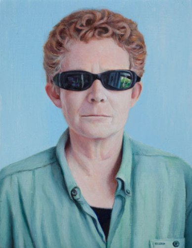 Nancy - 2010, Oil on panel, 5 x 3 7/8 inches