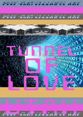 """Suzanne Treister (P•P•O•W) - Tunnel of Love from"""" Post-Surveillance Art,"""" 2014, From a series of 20 Archival giclée prints on Hahnemuhle Bamboo paper, 16.5 x 11.75 inches, Edition 2 of 25"""