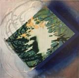 "Sarah Walker - ""Feeler I,"" 2021, Acrylic on panel, 12 x 12 inches"