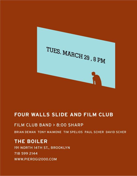 Film Club flyer