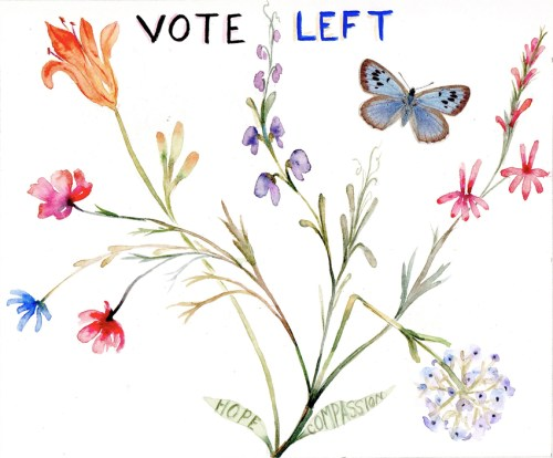 "Marilla Palmer - ""Vote Left"""