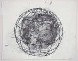 Spherical Cage Series, 4 - 2011, Graphite on paper, 11 1/4 x 14 1/4 inches