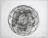 Spherical Cage Series, 3 - 2011, Graphite on paper, 11 1/4 x 14 1/4 inches