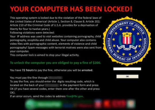 ransomware sample
