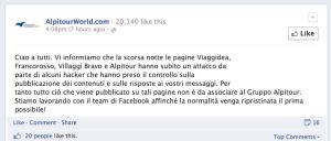 Alpitour hacked
