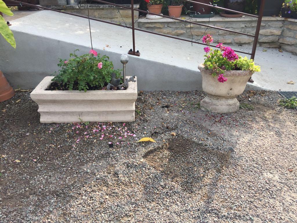 vasque de jardin sur pied modele 19