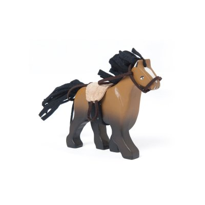 BK837-Brown-Wooden-Horse-Toy-Kids