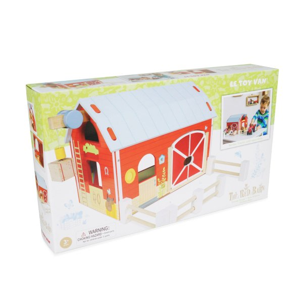 TV417-Red-Barn-Farm-Fence-Wooden-Play-Set-Packaging