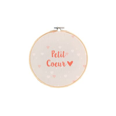 tambour-a-message-ballons-coeur-petit-coeur-corail-decoration-bebe-carotteetcie