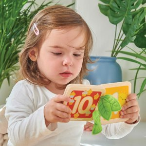 PL114-Counting-Wooden-Book-Learning-Numbers-Toddler-Girl
