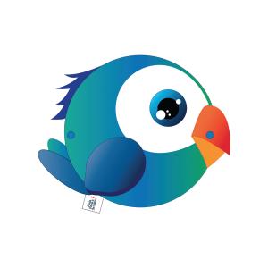 Momo-Perroquet-Bleu