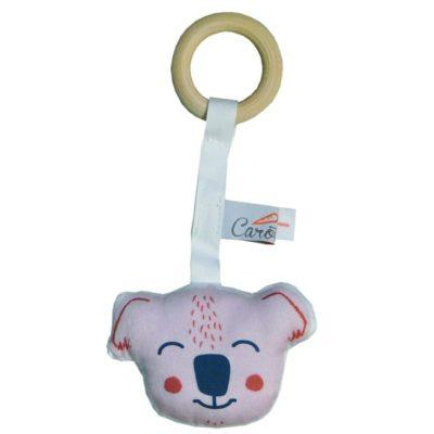 anneau-de-dentition-koala-rose-dessin-exclusif-carotteetcie