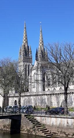 Cathédrale Saint Corentin à Quimper