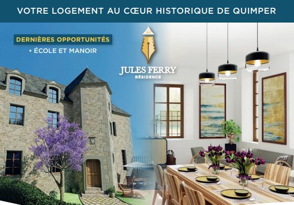 Manoir Appartements de standing centre-ville Quimper