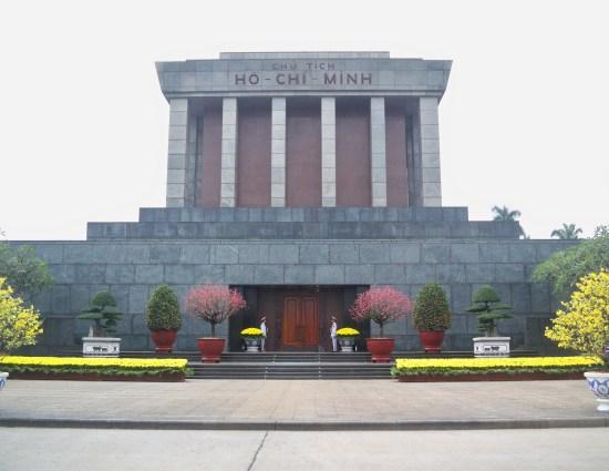 Mausolée Hô Chi Minh - Hanoi