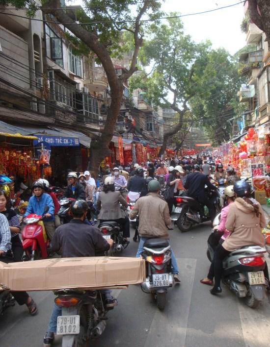 Hanoi - la rue