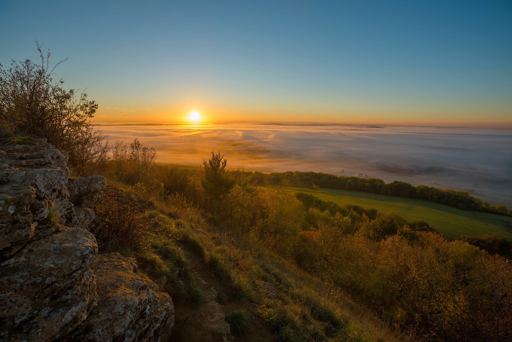 Lever de soleil et mer de nuages | Paysages diurnes © Pierre ROLIN - Photographe Nancy - Lorraine / Grand Est