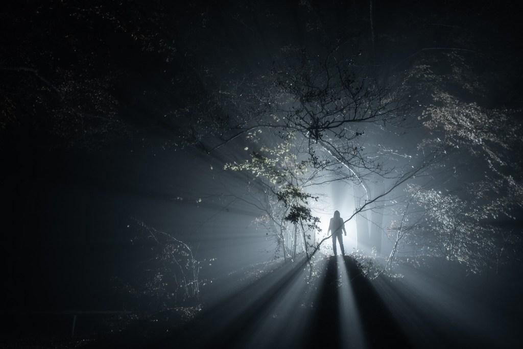 Silhouette de nuit dans la brume | Paysages nocturnes © Pierre ROLIN - Photographe Nancy - Lorraine / Grand Est