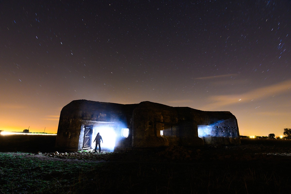 Partie 1 - Bunker fumigène et flash | Paysages nocturnes © Pierre ROLIN - Photographe Nancy - Lorraine / Grand Est