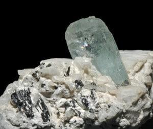 cristal d'une aigue-marine