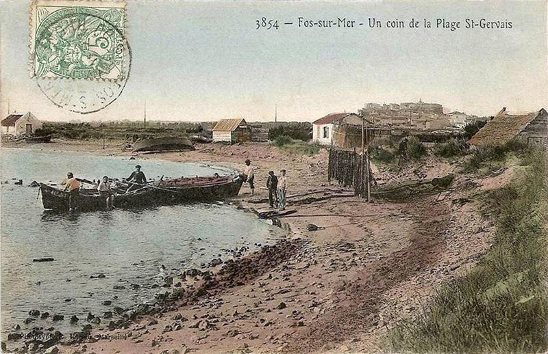 Cabanes De Sagne De Fos Sur Mer Bouches Du Rhne Daprs