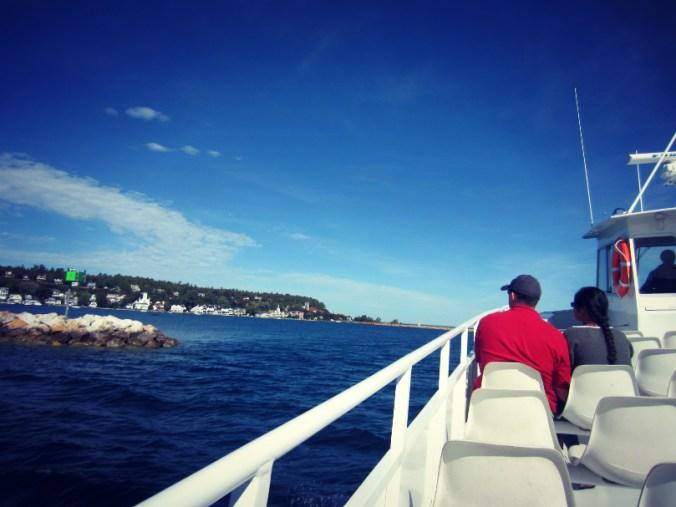 Ferry to Mackinac Island, Michigan