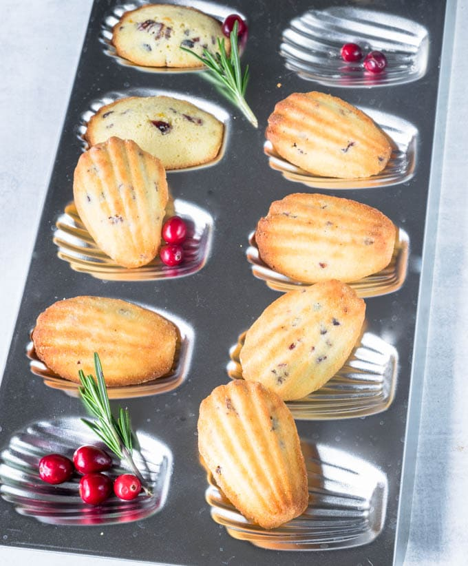 madeleines cookie