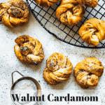 Walnut Cardamom Pastries