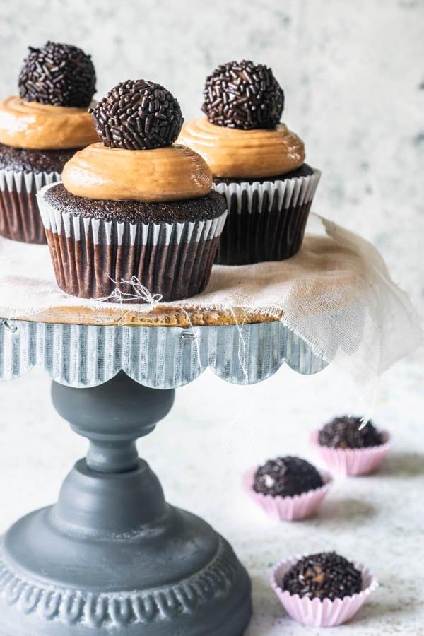 Death by Brigadeiro Cupcakes