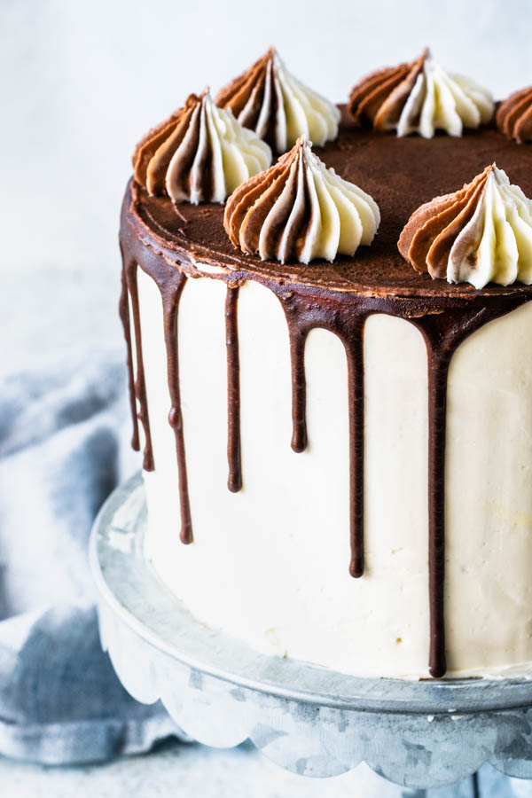 Marble Layer Cake