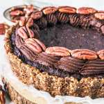 Pecan Brownie Vegan Pie