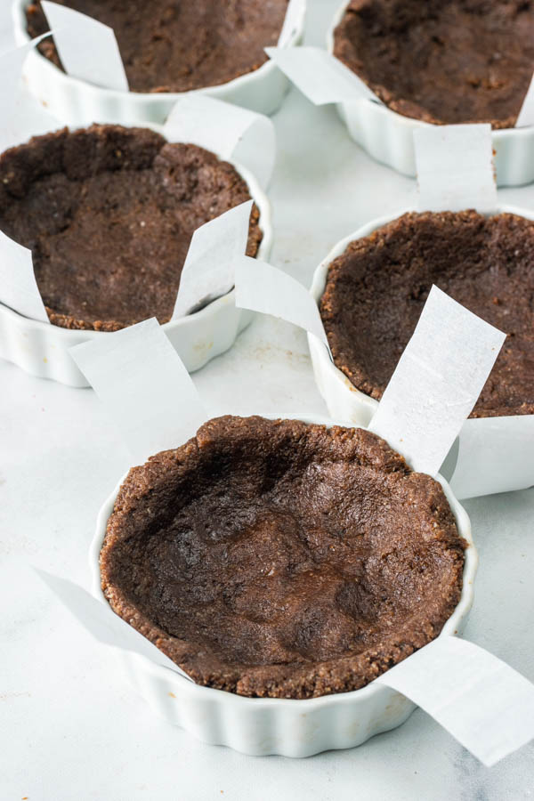 Hazelnut Chocolate Vegan Tarts