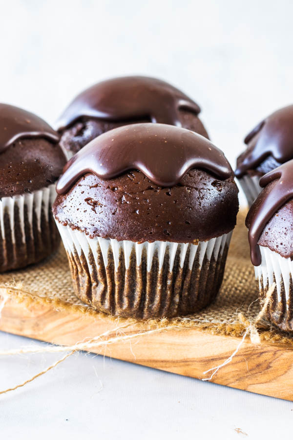 Chocolate Mousse Vegan Cupcakes