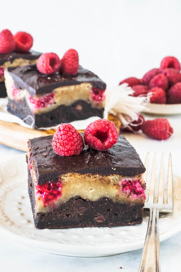 Raspberry Vegan Bars