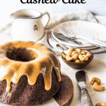Vegan Banana Cashew Cake