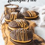 Salted Caramel Whoopie Pies