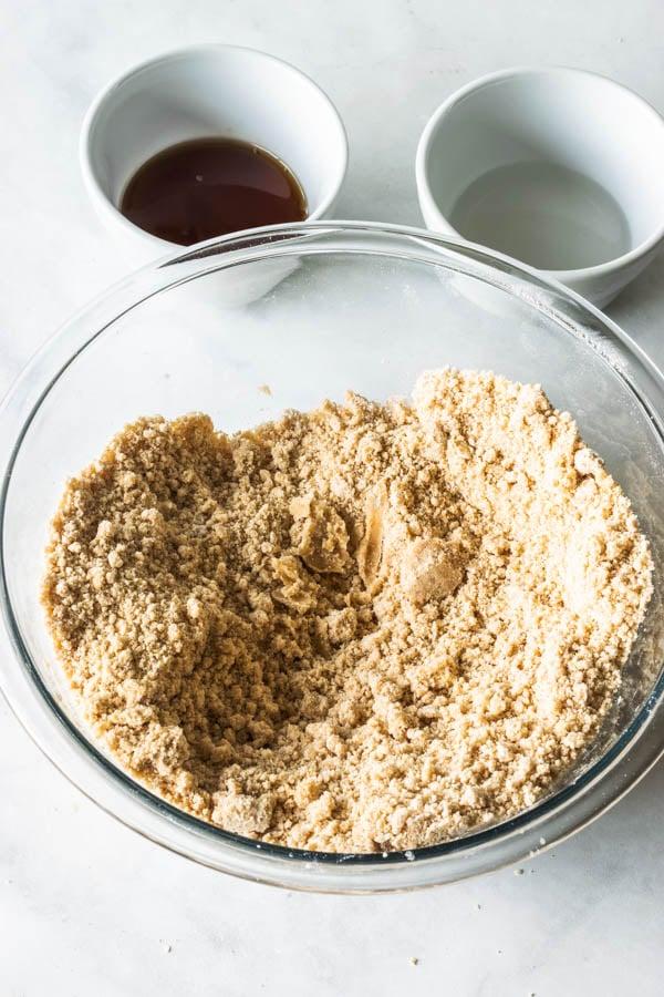 vegan graham cracker dough