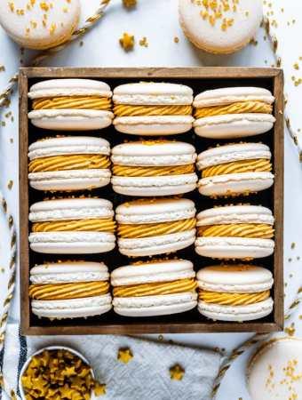Butterbeer Macarons