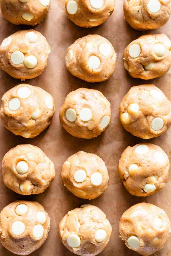 White Chocolate Peanut Butter Cookie dough