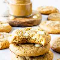 White Chocolate Peanut Butter Cookies