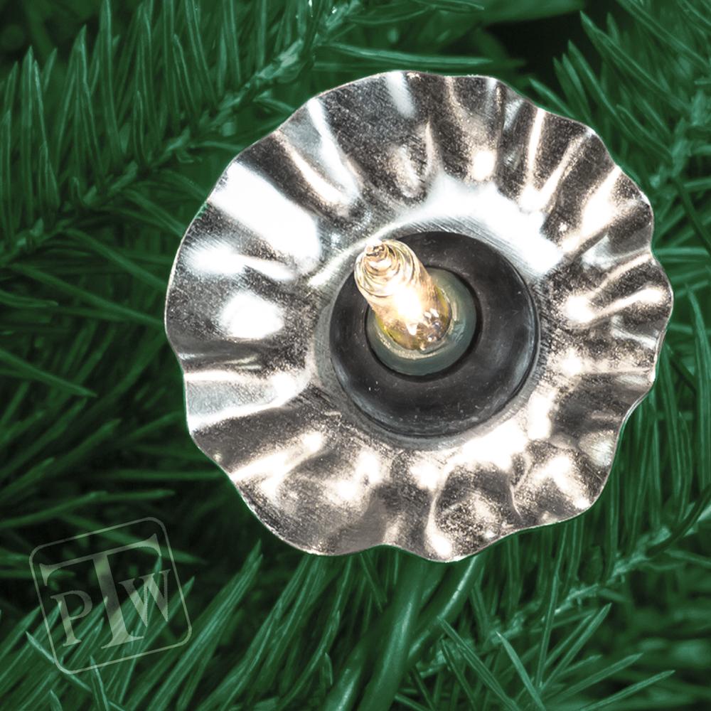 christmas light reflectors round 24
