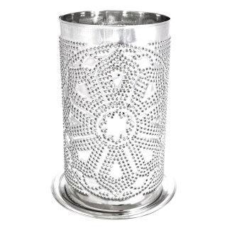 Front of Candle Shade Lotus Mandala
