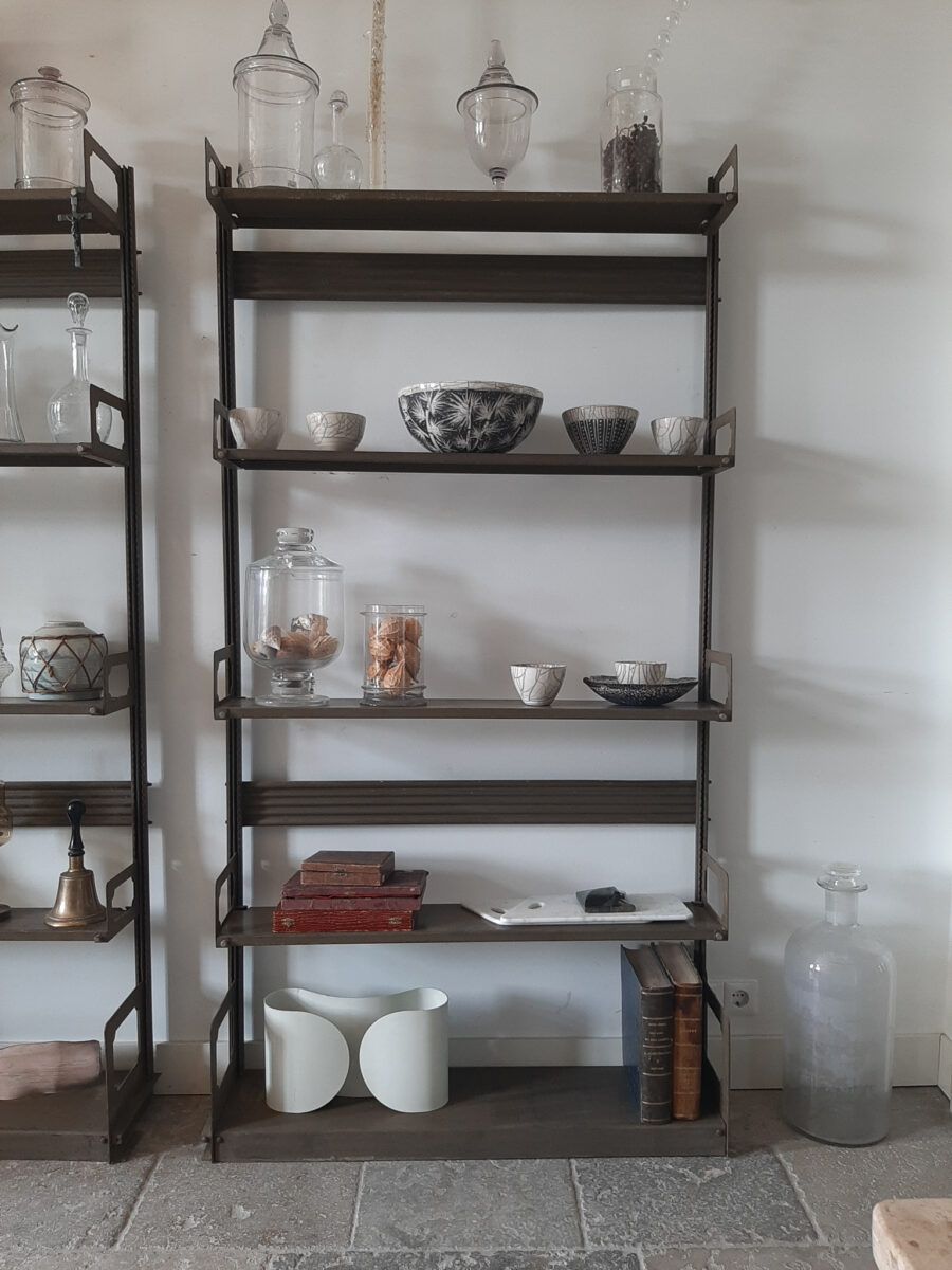 old metal kitchen rack piet jonker