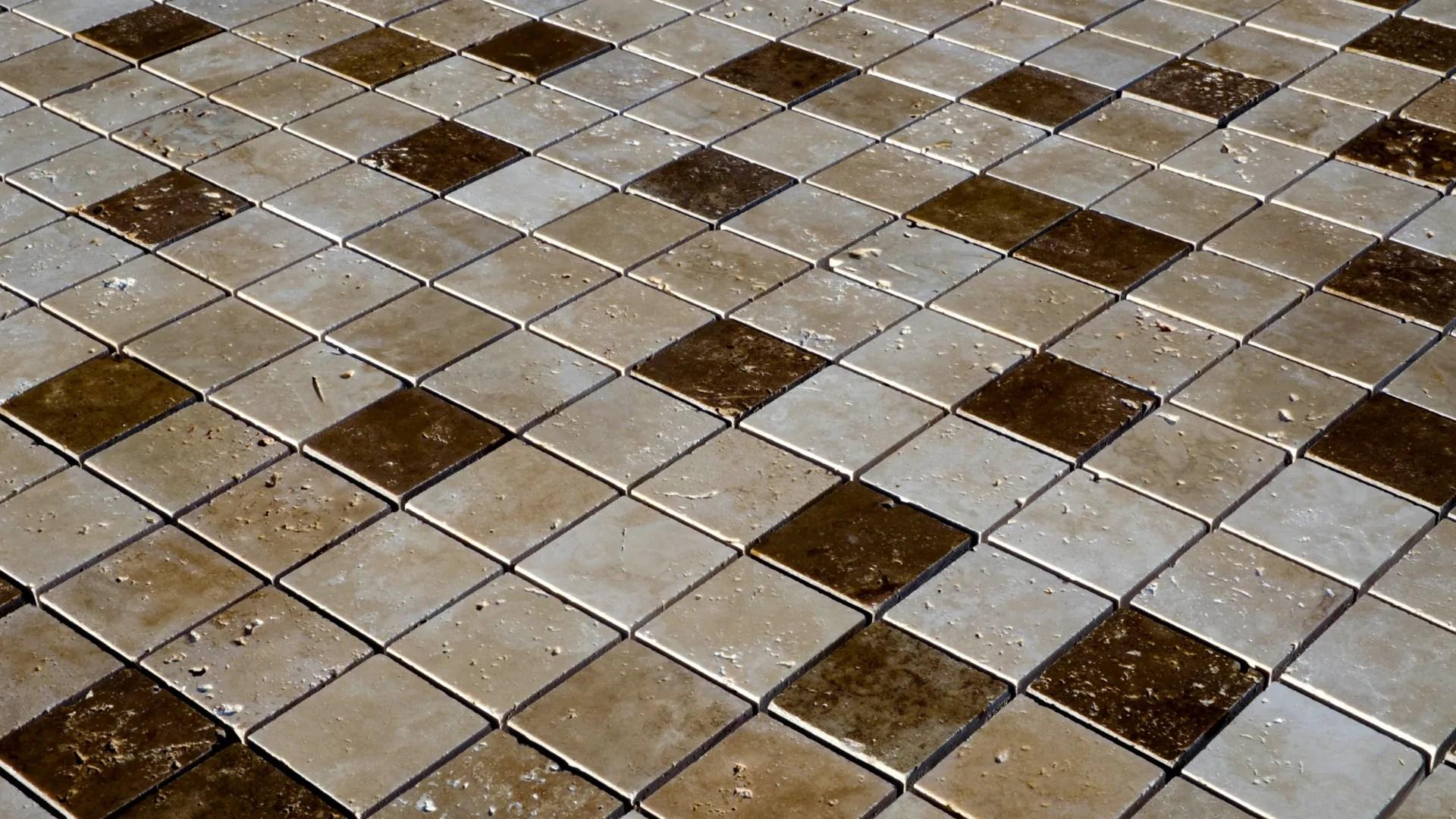 travertine mosaic 5 0x5 0 tuscany mix polished pietre di rapolano
