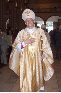 Padre Dario il giorno dell'Ordinazione Episcopale