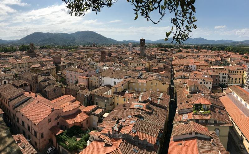 itinerario un giorno lucca panorama torre guinigi