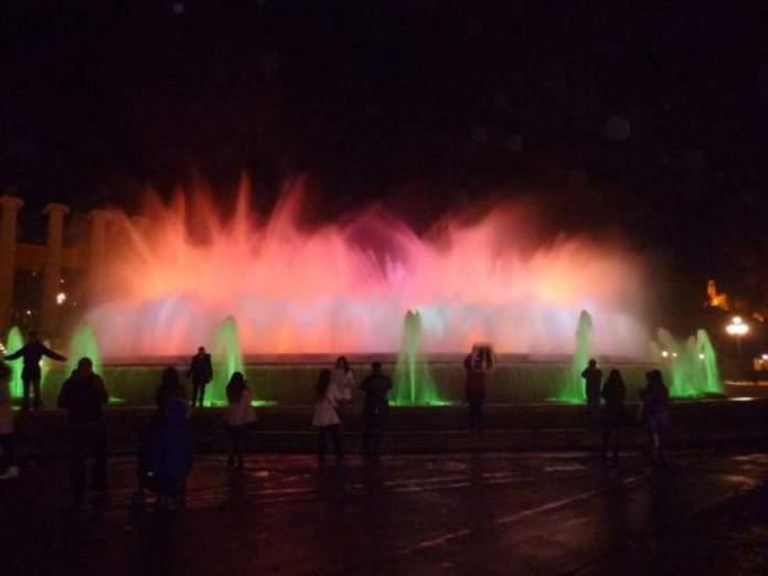 fontana magica barcellona tre giorni