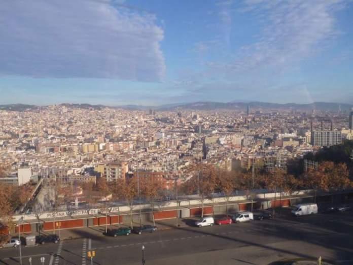 vista Barcellona funicolare