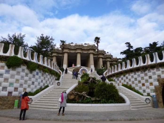 scalinata parco