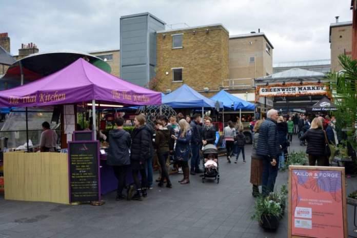 londra weekend greenwich market